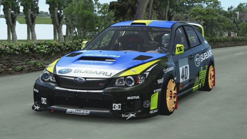 Subaru Impreza WRC (RWD)