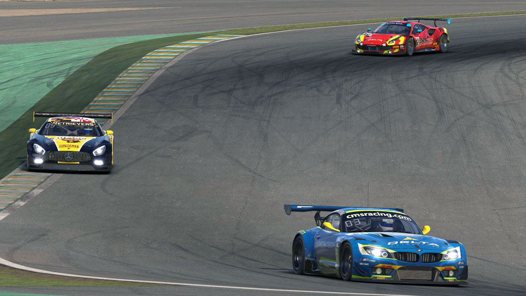 CMS-TXL GT3s at Jose Carlos Pace