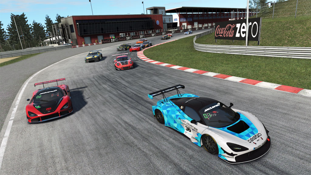 NARS Autumn GT3's at Zolder