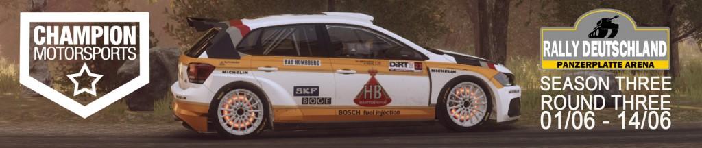 rally deutschland S3 R3