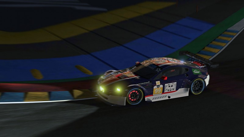 Matt Buice scores A CAREER HIGH of 2nd place, 1st podium and highest finish for the Trash Panda Aston Martin