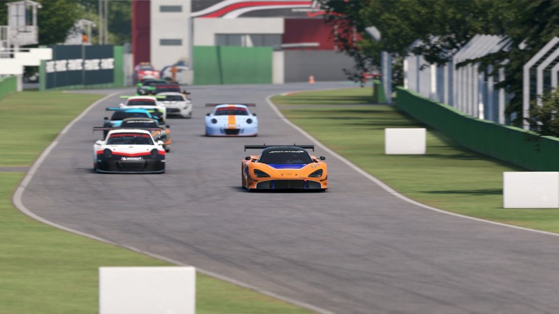 CMS Takes the Green at Imola in AMS 2