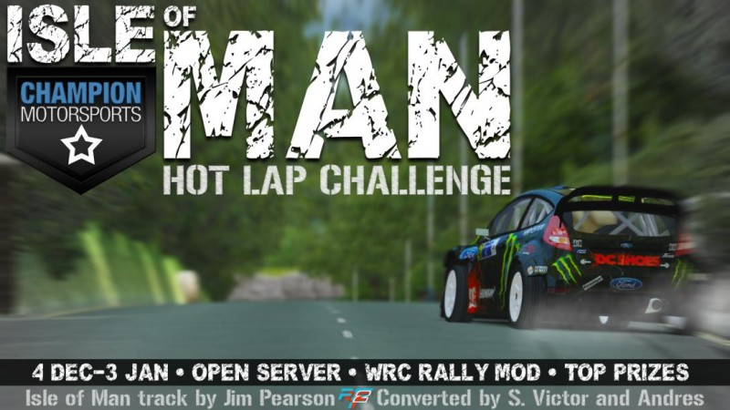 Isle of Man rFactor 2 Time Trials