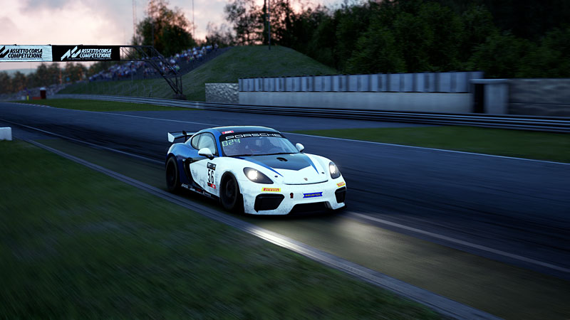Nurburgring winner of Round 1 in GT4 was Aenore Cavillon