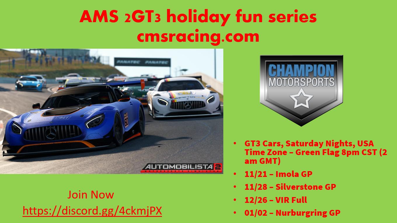 2020 CMS AMS 2 Holiday Fun Poster