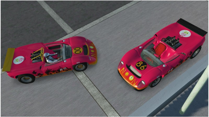 N00n Racing Lolas dominated Daytona finishing 1-2 in Purist