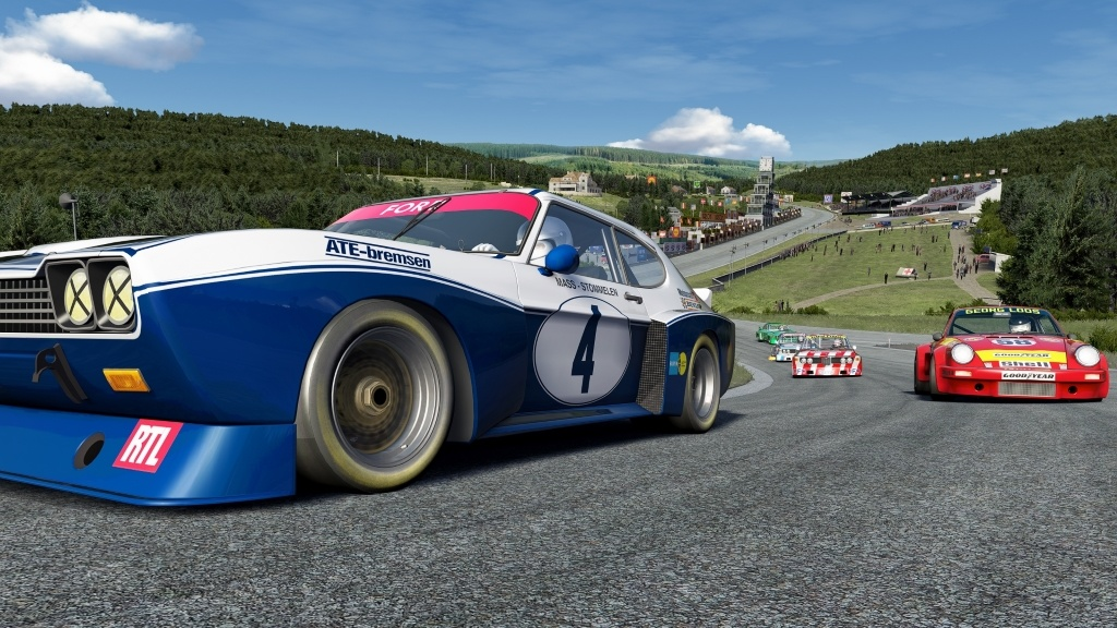 For its 25th season the CMS Historics Series features the finest 70's Touring Cars in Assetto Corsa.