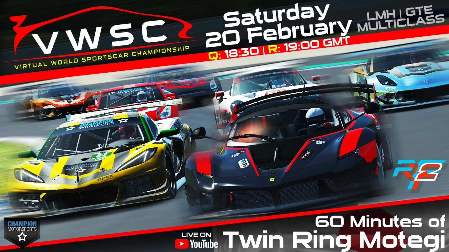 VWSC 2021 – 60 Minutes of Twin Ring Motegi