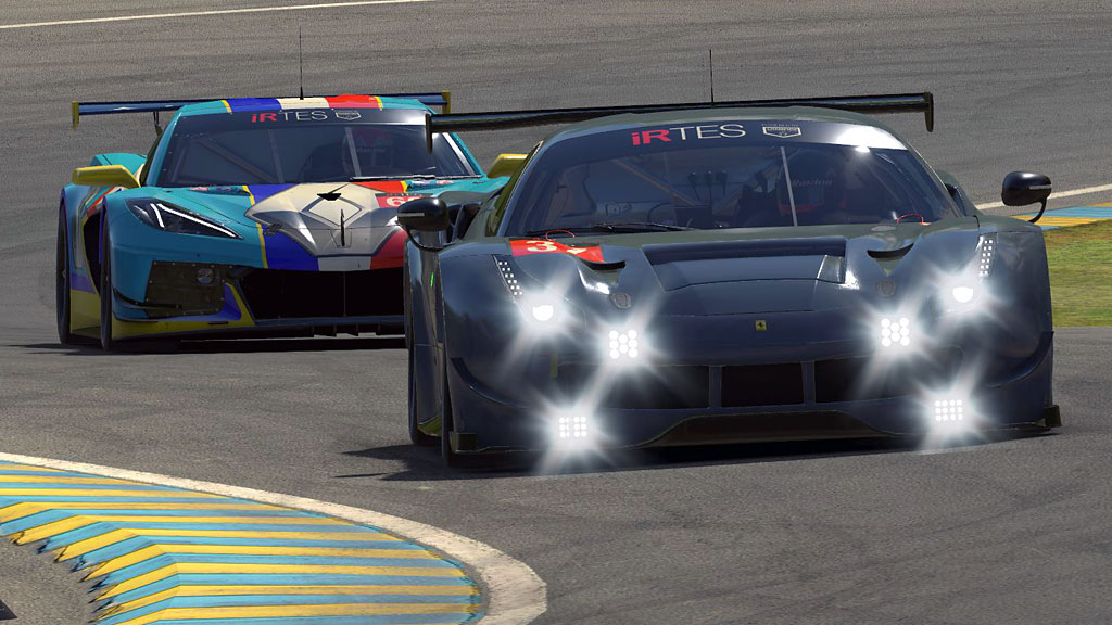 Unified Performance closely followed by Renault Alpine Racing at iRTES Le Mans