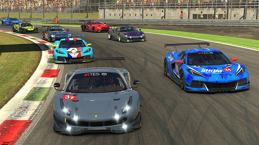 GTE start at Monza