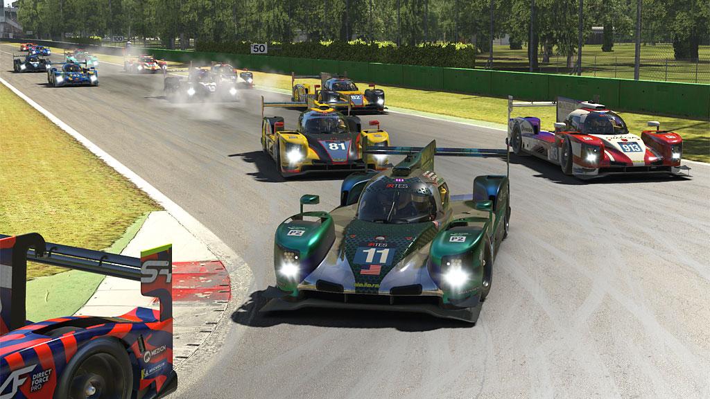LMP2 start at Monza