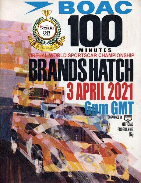 VWSC 1971 Brands Hatch poster.