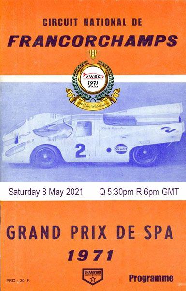 VWSC 1971 – 100 Minutes of Spa.