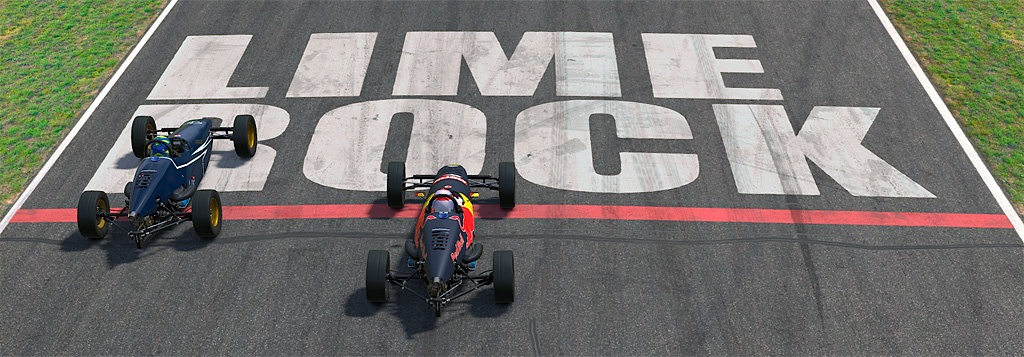 Formula Vee's at Lime Rock
